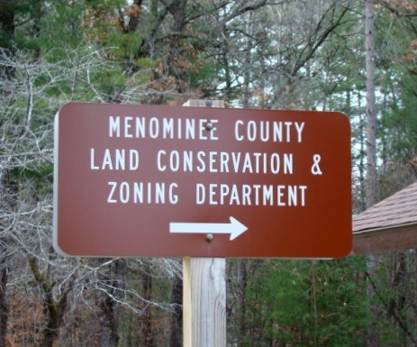 Zoning Department Sign